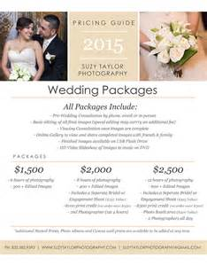 wedding photographer prices suzy photography wedding packages