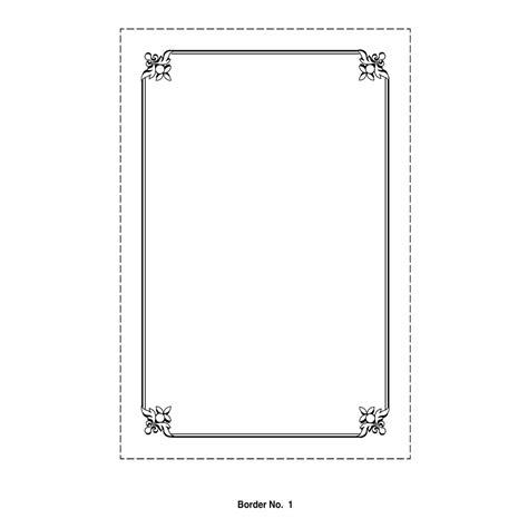 design frame wedding card border invitation borders