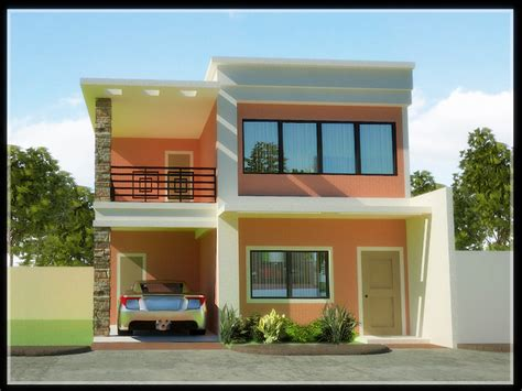 best 2 story 4 bedroom designs for low cost housing architecture two storey house designs and floor