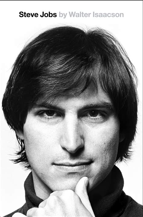 biography of steve jobs the new cover of the steve jobs biography shows him as a