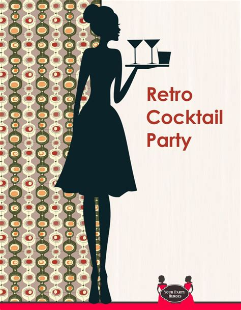 retro cocktail party retro cocktail party posters pinterest