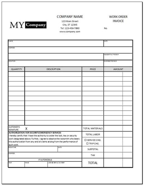 design invoice in excel design an invoice form w excel