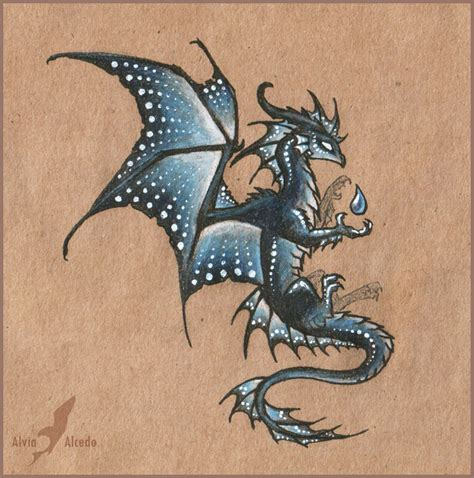 dark water dragon design by alviaalcedo on deviantart