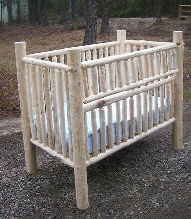 how to build a log baby crib top 25 best log crib ideas on pinterest cabin nursery