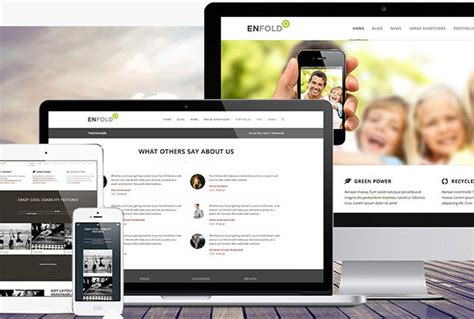 enfold theme blog demo ten multipurpose wordpress themes for versatile designers