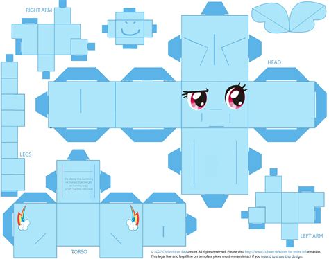 My Papercraft - ponies my pony and pony on
