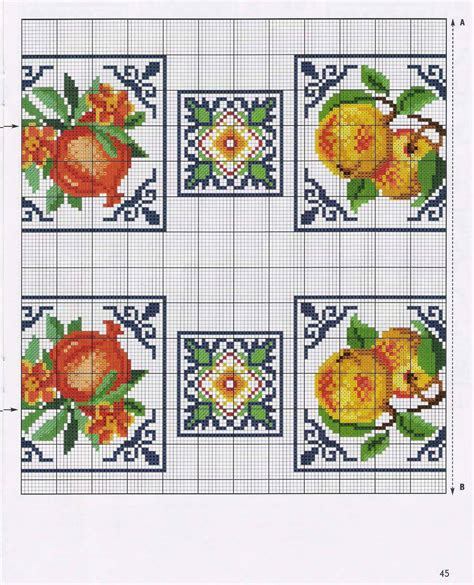 cenefas geometricas punto de cruz graficos punto de cruz gratis cenefas 82