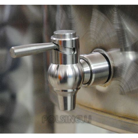 rubinetto a leva rubinetto a leva inox 1 2 quot polsinelli enologia
