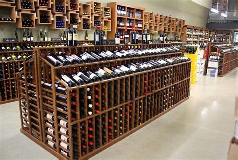 Wine Racking by Retail Wine Merchandising Wine Store Racking Retail Wine Racks