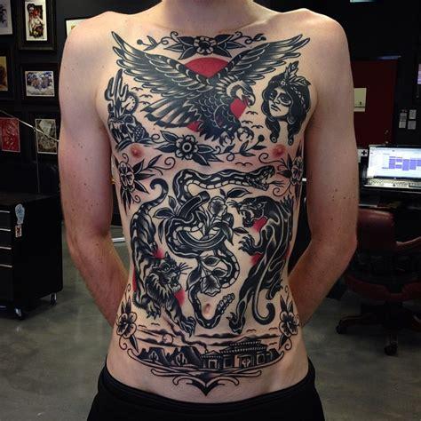 Tattoo Old School Ideas   old school ideas blackwork tattoo aaron ashworth on body