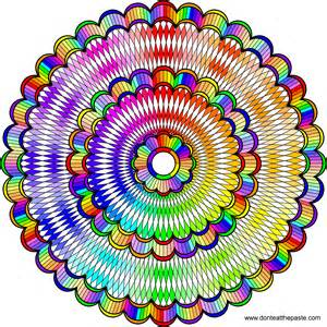 color mandala don t eat the paste intricate mandala to color