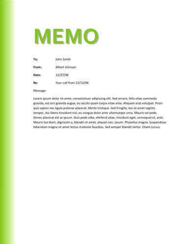 memo templat green gradient memo
