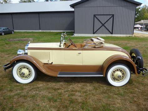 1926 chrysler imperial 1926 chrysler imperial series 80 roadster