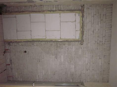 schouw dichtmetselen hoe deze muur klaarmaken voor tegelwerk