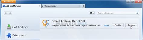 Firefox Search From Address Bar Remove Smart Address Bar Search Redirect Removal Guide