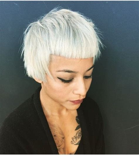 funky hair color for artsy older women 1000 ideas about short funky hairstyles on pinterest