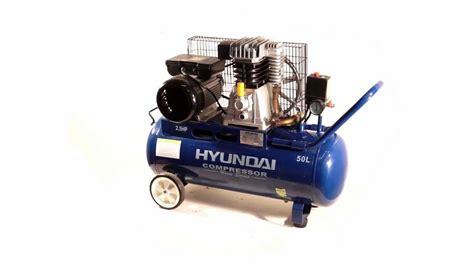 hyundai hyab2550 belt drive air compressor