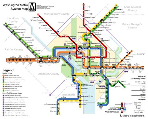 washington dc metro map airport the 25 best ideas about blue line metro map on