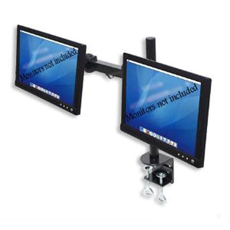 Halter Dual Lcd Monitor Stand Desk Cl For 27 Inch Lcd Lcd Monitor Stand Desk Cl