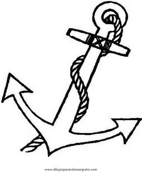anclas de barcos para colorear dibujos de ancla imagui