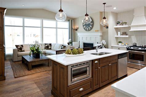 hawthorne kitchengreat room traditional kitchen
