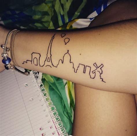 girly tattoo nyc 52 best city skyline tattoos images on pinterest skyline