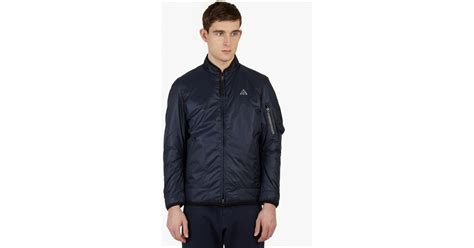Apparel Lab Bomber Lotto Navy Blue 1 nike navy acg bomber jacket in blue for lyst