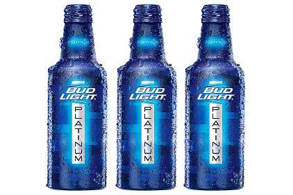 bud light aluminum bottles light brand launches recloseable aluminum bottle