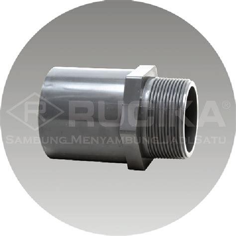 Rucika Pvc 1 X 3 4 Aw rucika valve socket aw 1 x 3 4 175 pc benteng