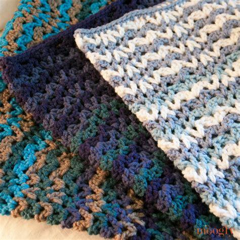 vintage afghan pattern free pattern vintage wobble afghan moogly