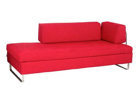 bett sofa bettsofa bed for living stoff rot schaumkernmatratze b