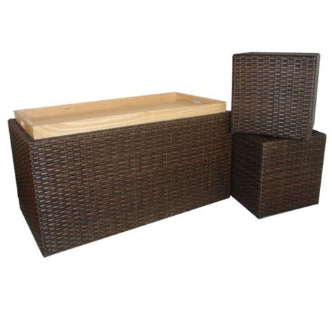 resin wicker storage bench china resin wicker storage bench china storage bench
