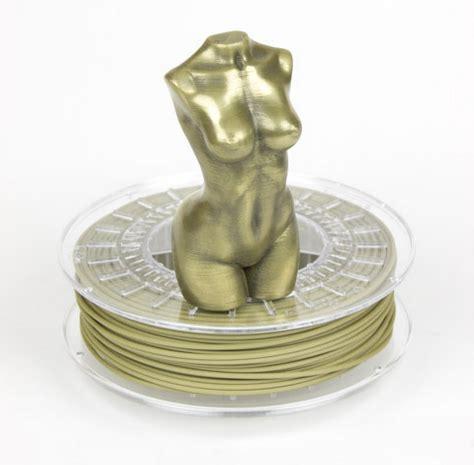 Plastik Display Polieren by Colorfabb Brassfill Filament 1 75mm 0 75kg Matterhackers