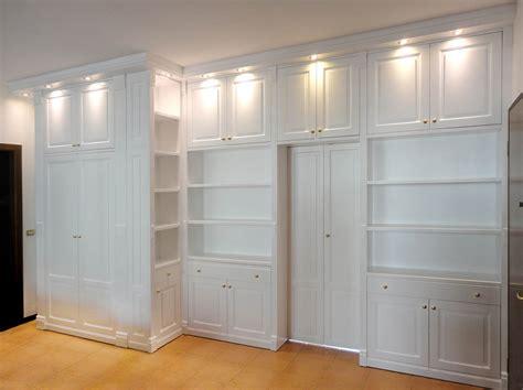 pareti armadio pareti attrezzate su misura roma falegnamerie design