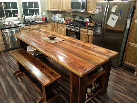 tall kitchen island 17 best images about barn wood kitchen islands we have