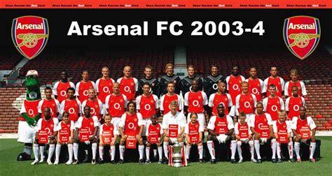 arsenal unbeaten arsenal s 2003 04 unbeaten season from premier league
