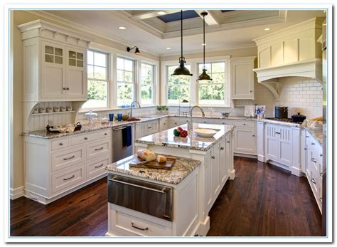 granite countertops for white kitchen cabinets white kitchen cabinets and granite quicua com