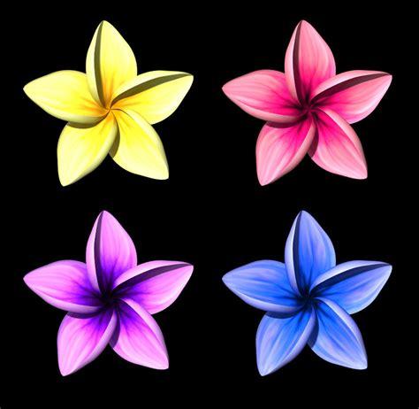 flowermodels com plumeria flower model by parrotdolphin on deviantart