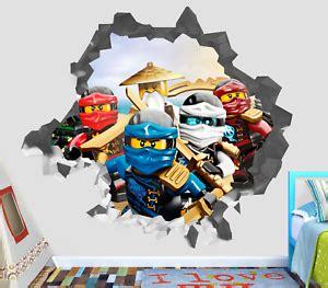 3d Sticker Ninjago by Wall Sticker 3d Decal Lego Ninjago Decor Vinyl