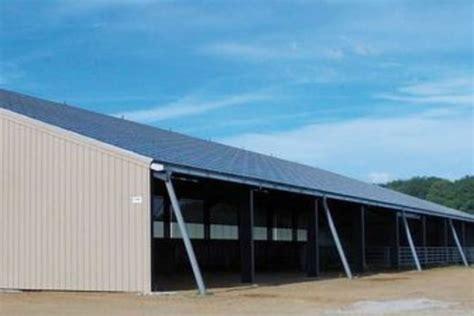 Hangar Solaire by Des Panneaux Solaires Sur Les Hangars Agricoles Limousins