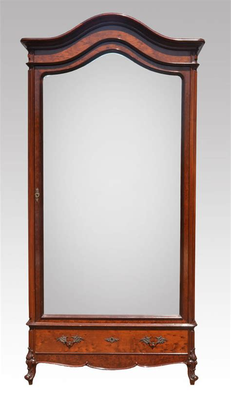 Single Armoire Wardrobe by Mahogany Single Door Armoire Wardrobe Antiques Atlas