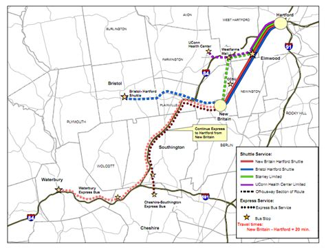 uconn cus map now funded hartford s busway survives a decade of dissent 171 the transport politic