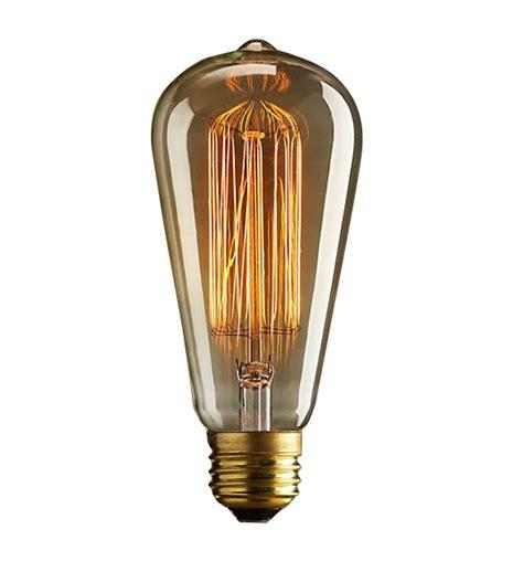 st64 120v 40w retro edison filament antique light bulb