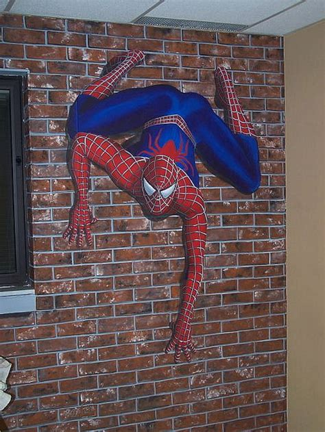spiderman wall murals louisville muralist glenda krauss muralist