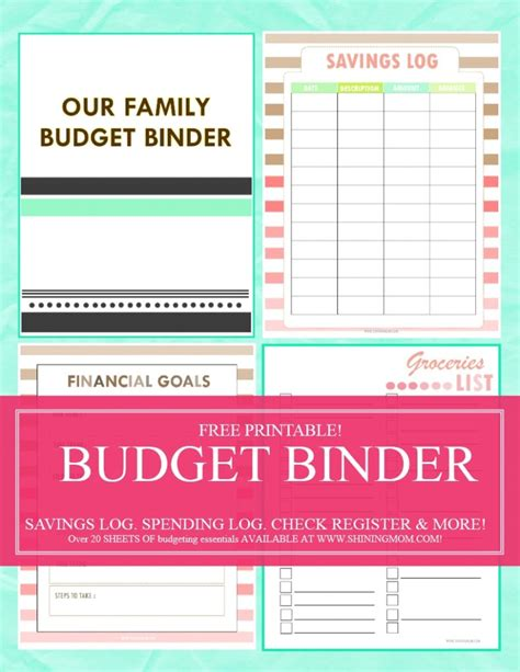 free printable binder planner 2016 save money use our free budget binder