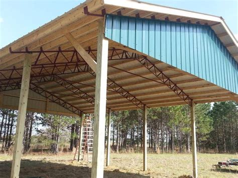 pole barn with gambrel roof truss kit pa nj apm buildings 25 b 228 sta pole barn trusses id 233 erna p 229 pinterest
