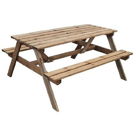 wooden picnic bench standard wooden picnic bench