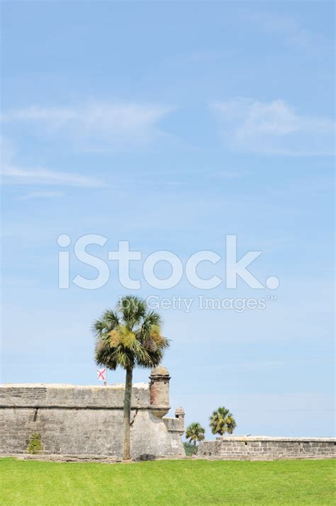 st augustine florida business jet traveler castillo de san marcos in saint augustine florida stock