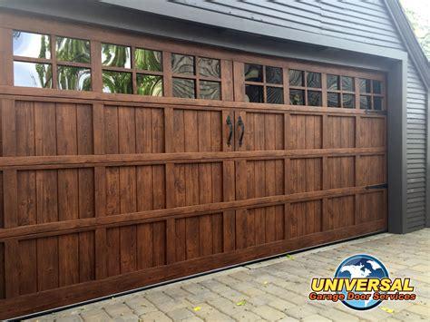 universal garage doors new garage doors universal garage door services