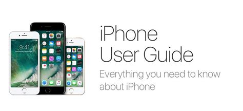 iphone user guide iphone user guides for every model